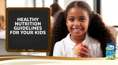 Healthy Nutrition Guidelines for Your Kids