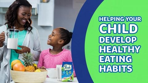 Helping Your Child Develop Healthy Eating Habits