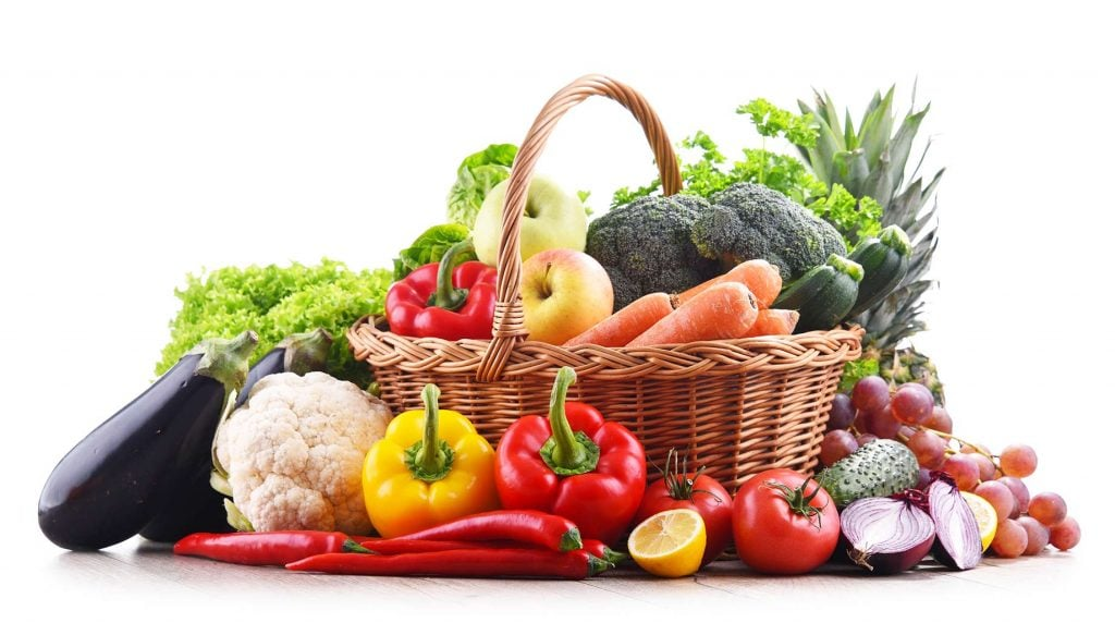 Rich food sources of vegetable