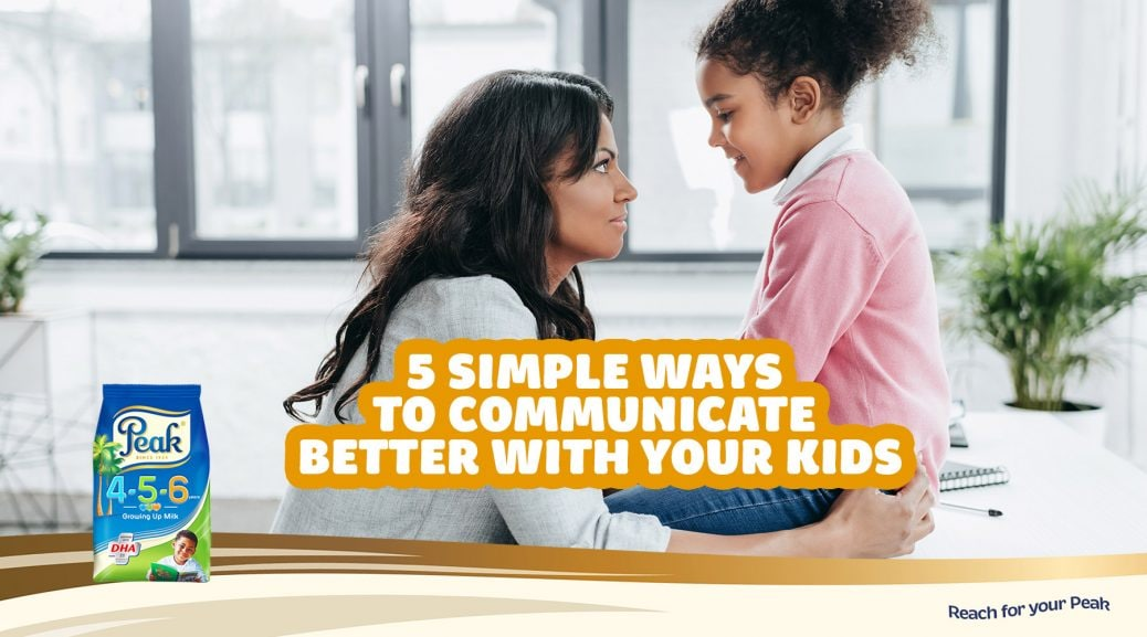 Communicating better with your kids