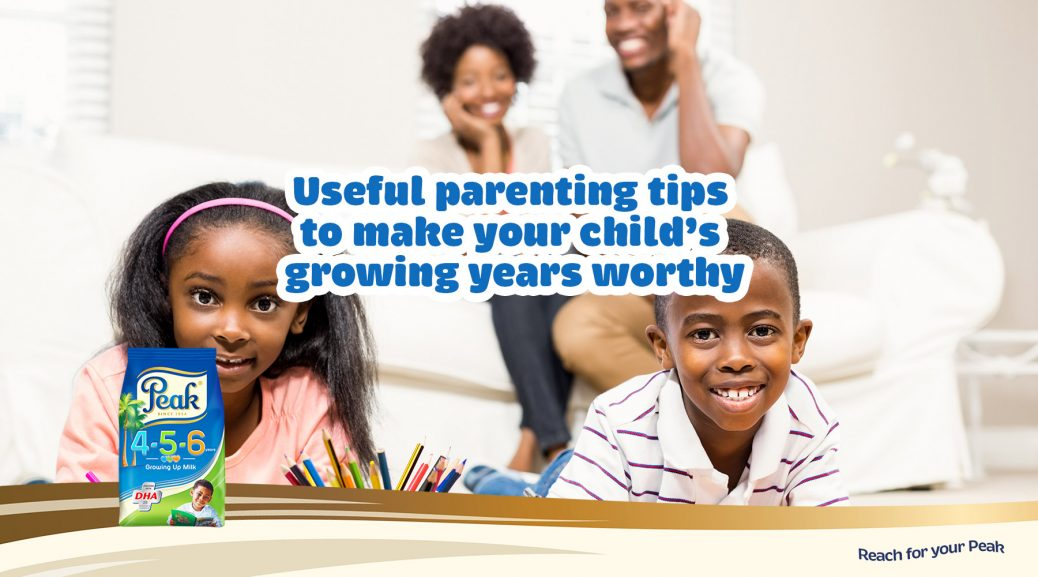 Making your child's growing years worthy