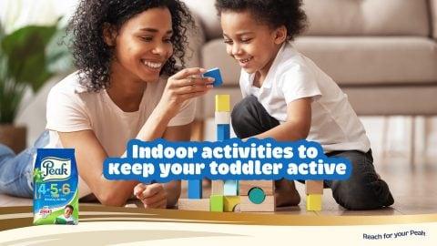 Indoor Activities To Keep Your Toddler Active