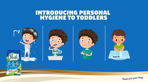 Introducing Personal Hygiene to Toddlers