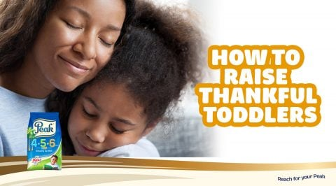 How To Raise Thankful Toddlers