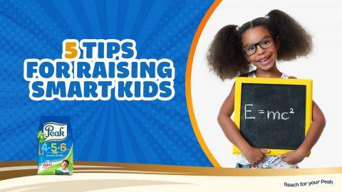 5 Tips For Raising Smart Kids