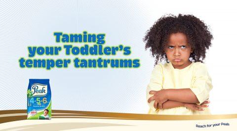 Taming Your Toddler's Temper Tantrums
